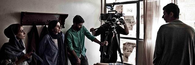 عکسهای پشت صحنه فیلم کوتاه حفره مشترک