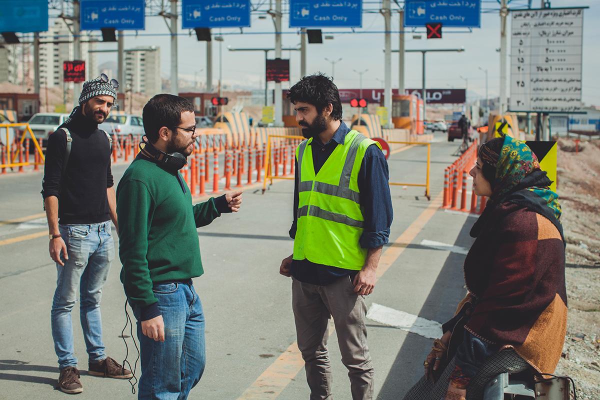 عکسهای پشت صحنه فیلم کوتاه عوارض خروج
