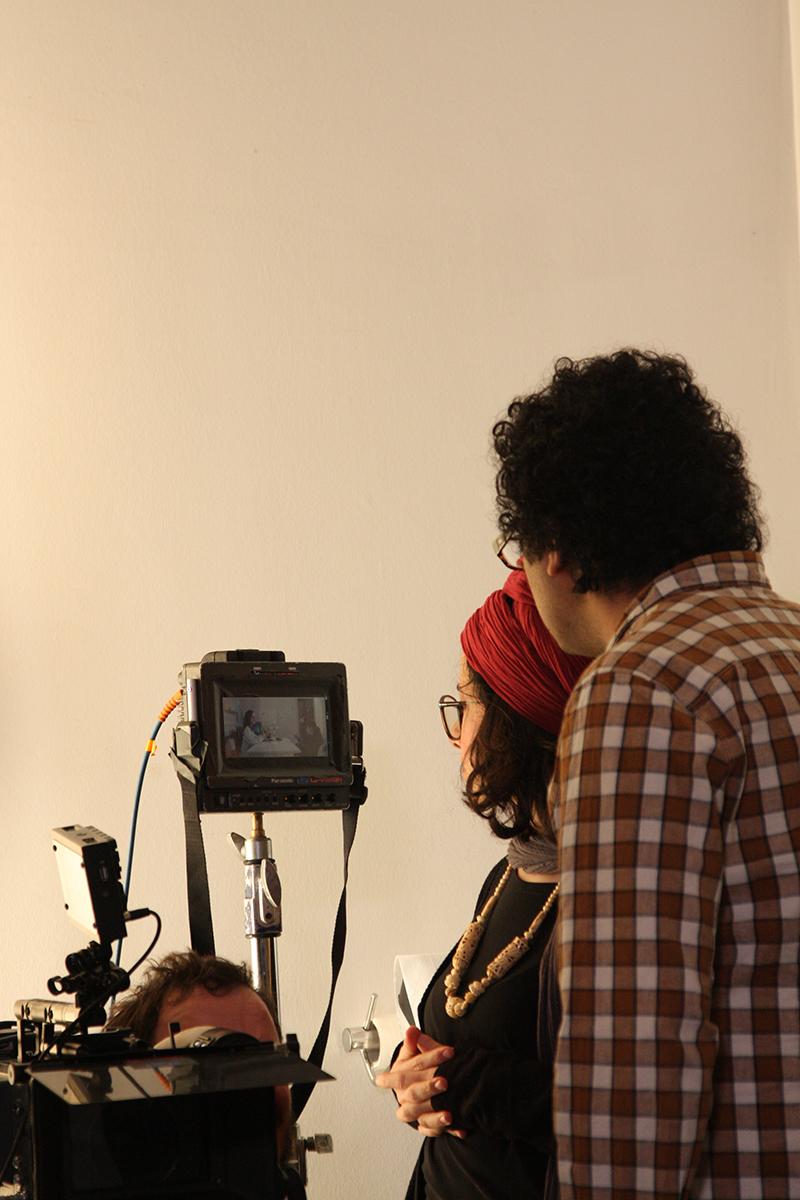 عکسهای پشت صحنه فیلم کوتاه سکوت