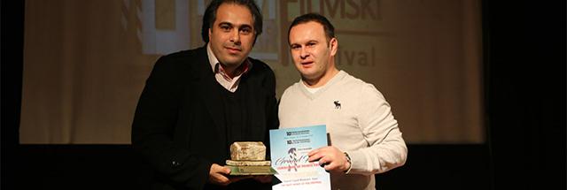 «مرد نمکی» جایزه بهترین فیلم جشنواره بینالمللی کادر اول بوسنی را در یافت کرد