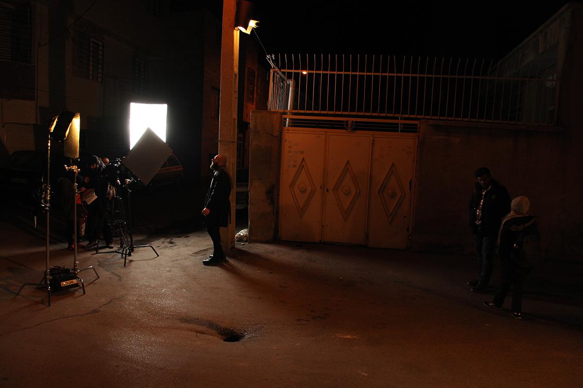 عکسهای پشت صحنه فیلم کوتاه روزشمار