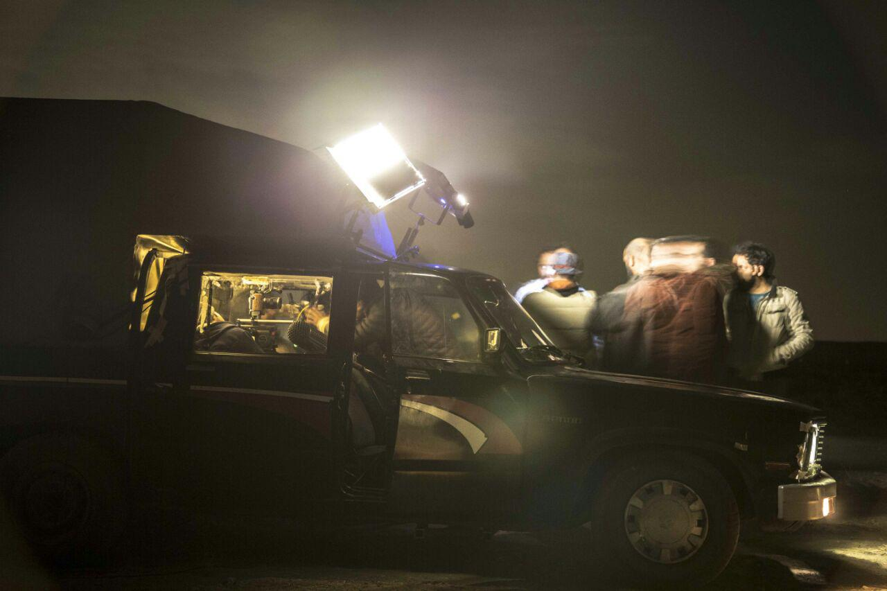 عکسهای پشت صحنه فیلم کوتاه شب تولد