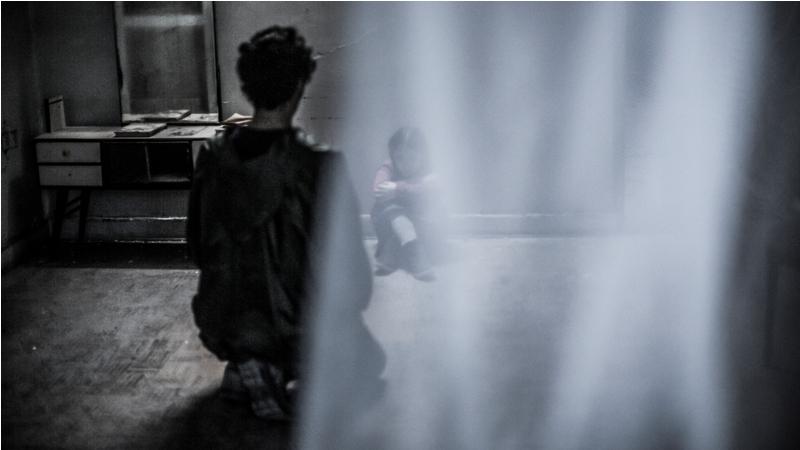 عکسهای پشن صحنه فیلم کوتاه خوابگردها