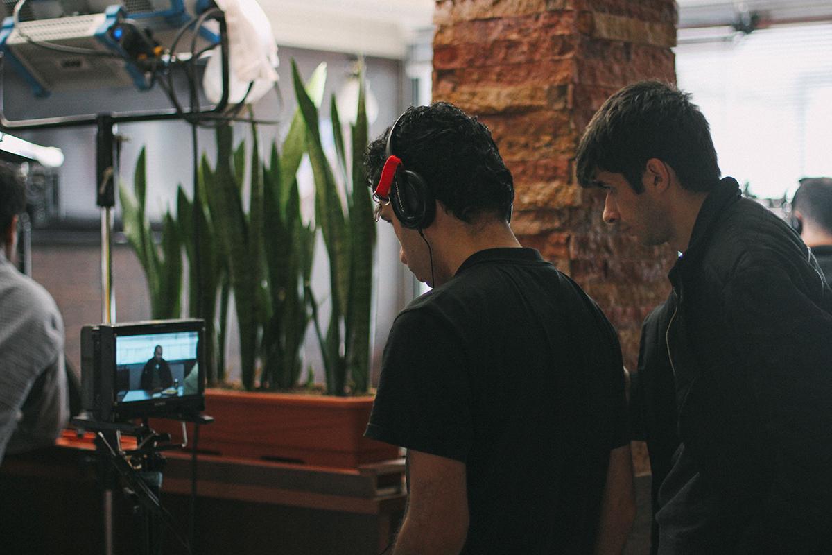 عکسهای پشت صحنه فیلم کوتاه آتن