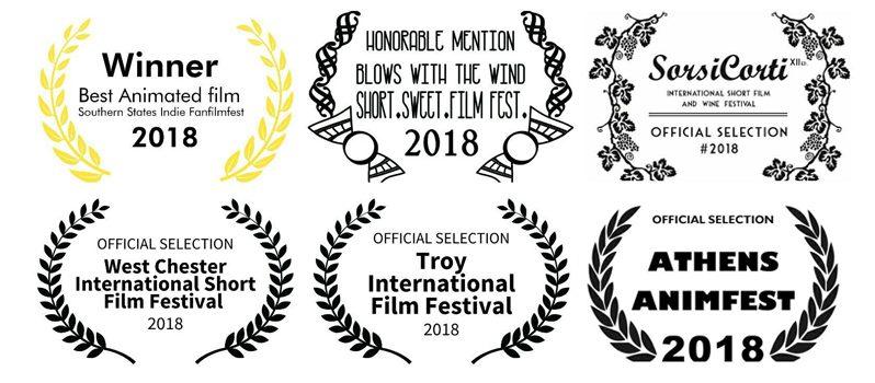 دو جایزه و چهار حضور بینالمللی دیگر برای انیمیشن کوتاه «در باد میوزد»