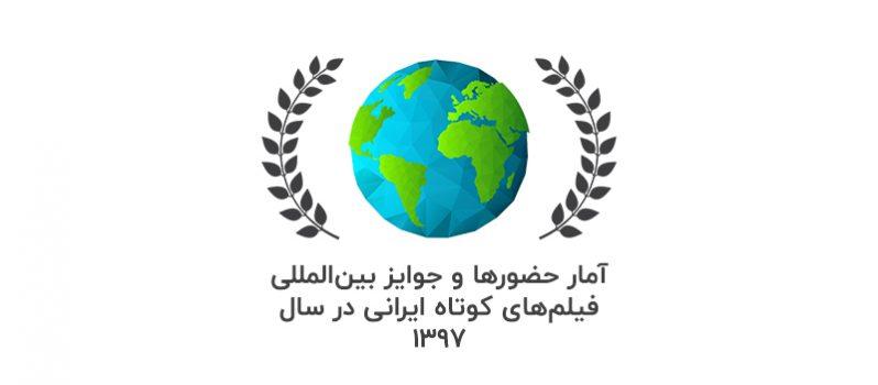 آمار حضورها و جوایز بینالمللی فیلمهای کوتاه ایرانی در سال 1397