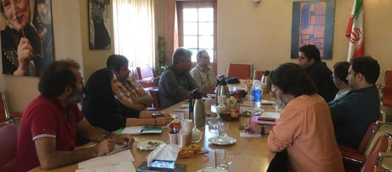 دیدار مدیران انجمن سینمای جوانان ایران و انجمن صنفی فیلم کوتاه