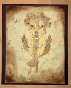 نقاشی فرشته نو اثر پل کله